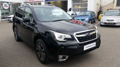 Subaru Forester XT 2.0 Turbo 235 BHP Lineartronic Four Wheel Drive Petrol Black Silica at Bagot Road Garage Ltd Jersey
